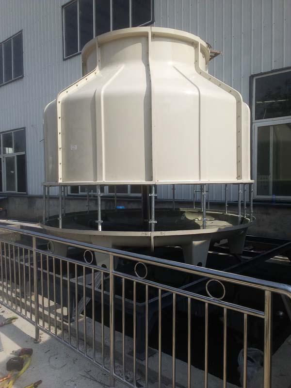 贵州圆形逆流式玻璃钢冷却塔参数表
