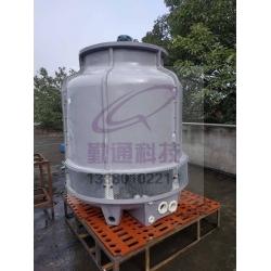 四川资中职业学校40T冷却塔安装现场